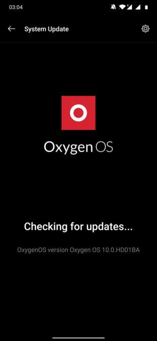 OnePlus 7T Pro Screenshot of OxygenOS