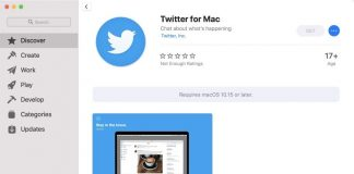 Twitter for Mac Now Available From Mac App Store