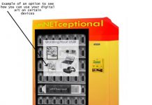 This vending machine sells pixels, not Pepsis, to help digital artists