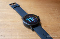 Misfit Vapor X Smartwatch Laying Flat On Table