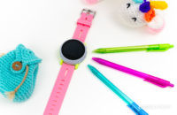Coolpad Dyno kids smartwatch on desk