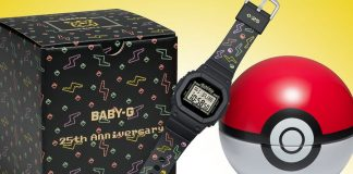 G-Shock has made the ultimate retro-cool Baby-G Pokémon watch
