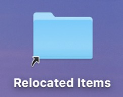 Relocated Items in macOS Catalina Explained