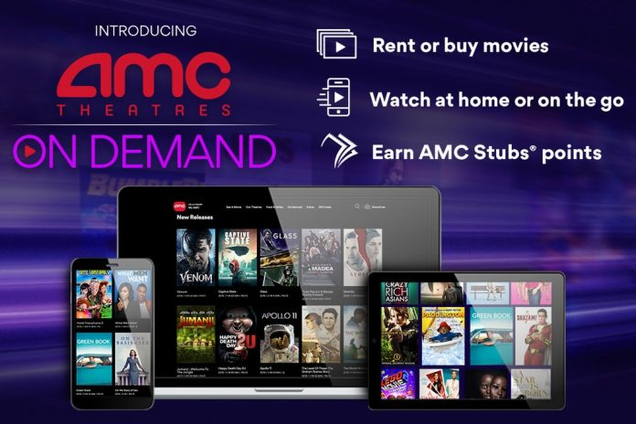 AMC Entertainment to Launch Video on Demand Digital Movie Service Today