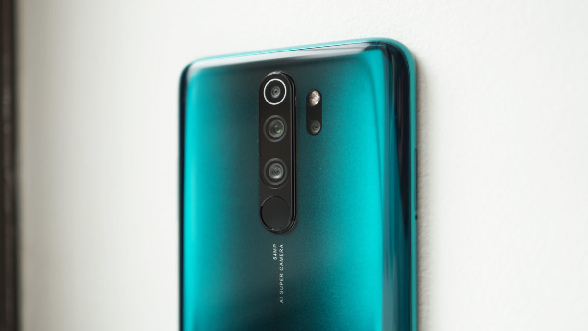Redmi Note 8 Pro review camera closeup