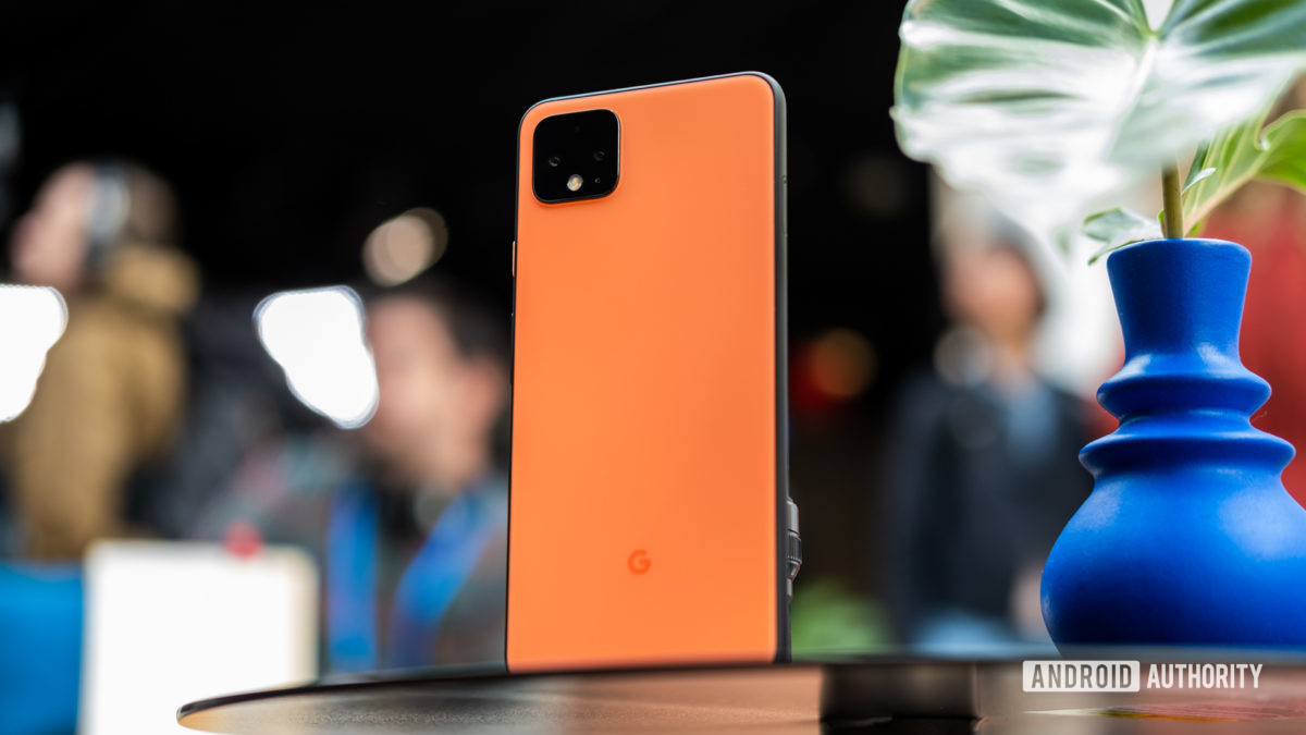Pixel 4 XL back on table 4