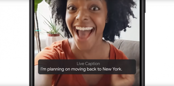 Live Caption launches with Pixel 4