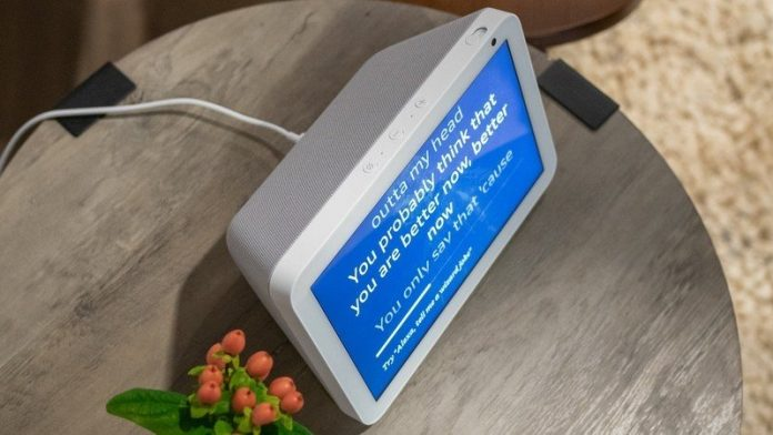 Get yourself a stand for your Echo Show 8