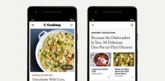 The NYT Cooking app is finally available on Android