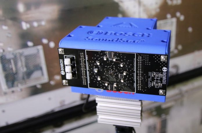 Bosch will test its A.I.-powered, sound-seeing technology in space