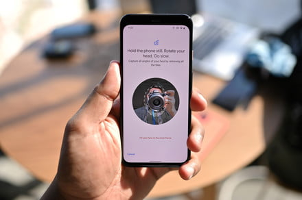 The Google Pixel 4's face unlock feature works when your eyes are closed