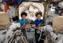 The first-ever all-woman spacewalk is happening right now