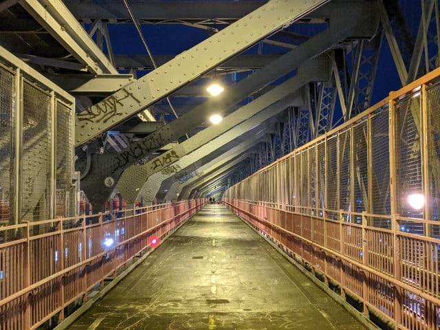 pixel 4 xl night sight williamsburg bridge