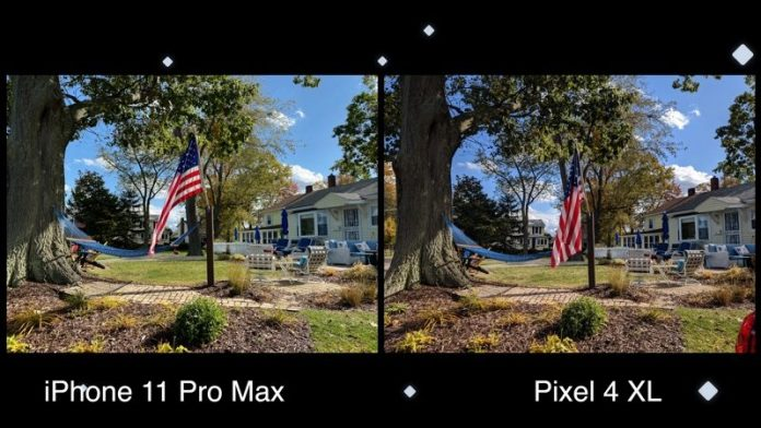 Camera Comparison: Google Pixel 4XL vs. iPhone 11 Pro Max