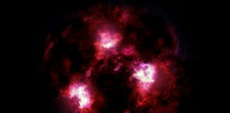 Astronomers discover a cosmic Yeti: A massive galaxy from the early universe