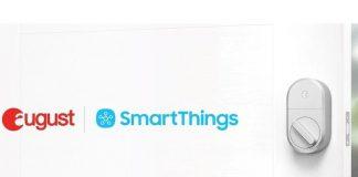 August smart locks are gaining Samsung SmartThings software integration