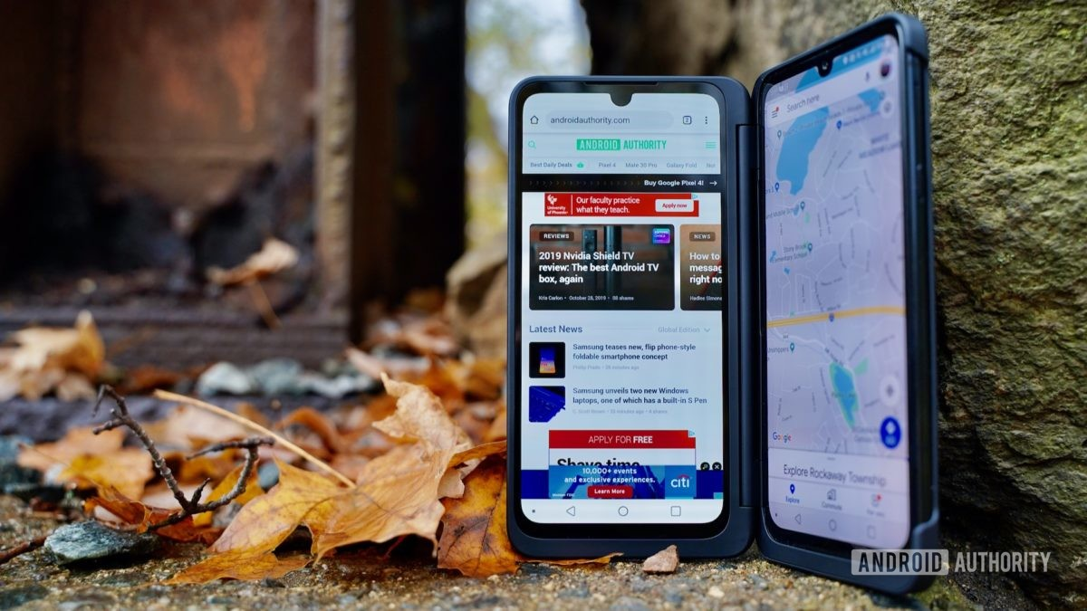 LG G8X ThinQ Review multitasking