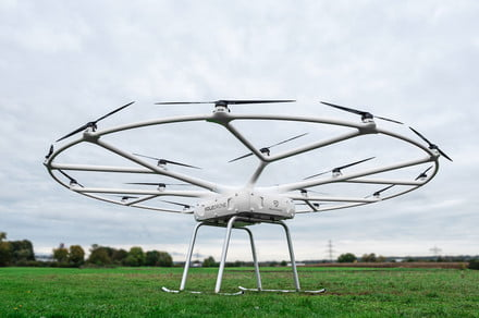 Volocopter's awesome flying taxi inspires the design of a new cargo drone