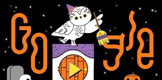 Google celebrates Halloween with interactive Google Doodle