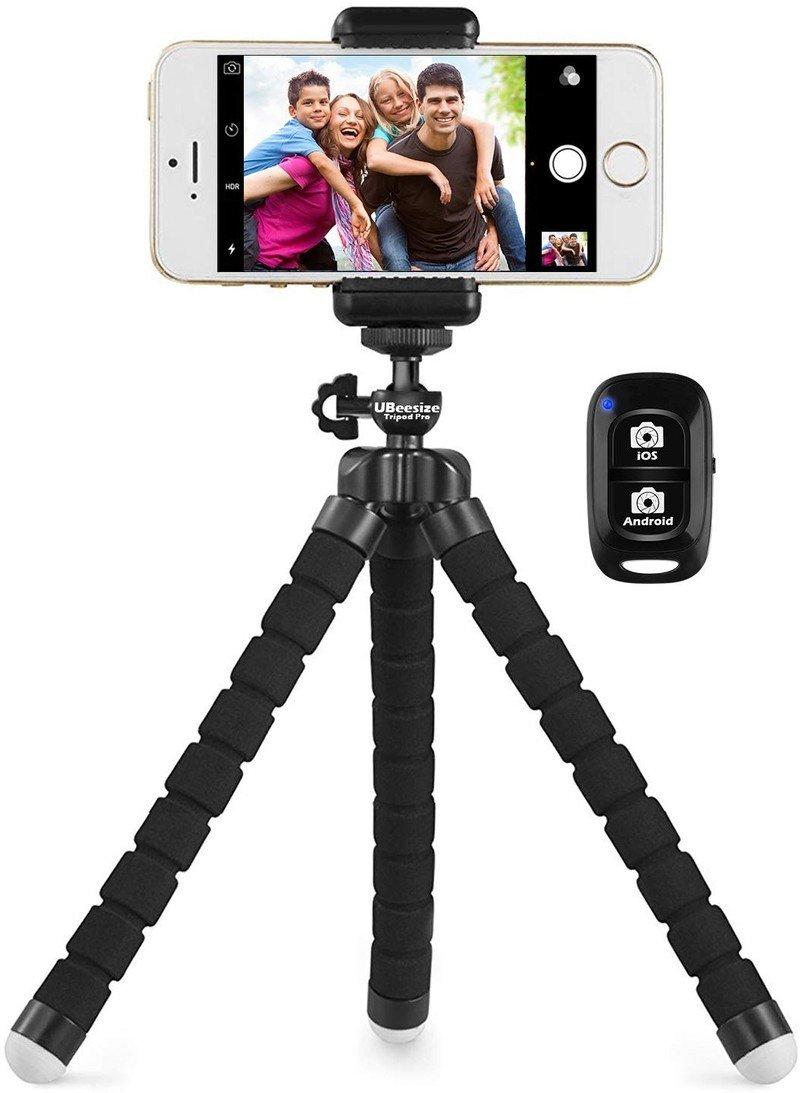 ubeesize-phone-tripod-remote-holder-pres