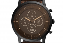 Fossil HR hybrid watches feature always-on display, physical hands