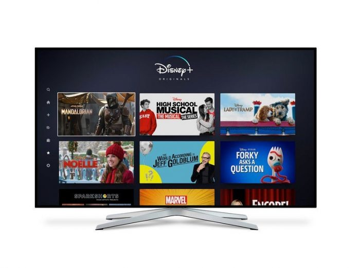 Disney+ will be available on Samsung TVs at launch