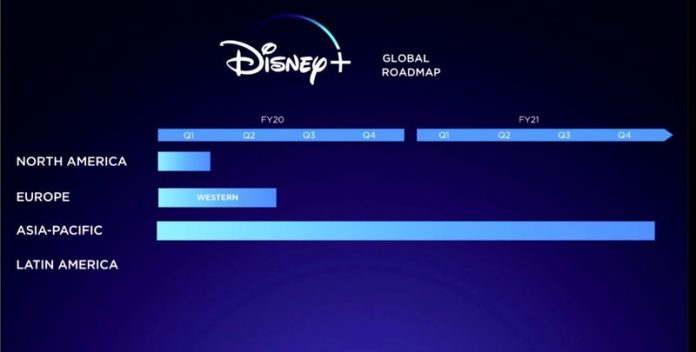 Disney+ comes to UK, France, Italy, and Spain March 31, 2020
