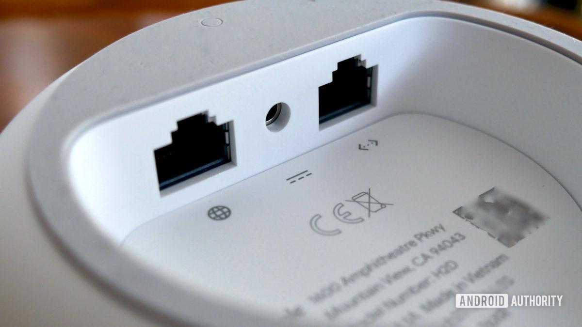 google nest wifi review ports