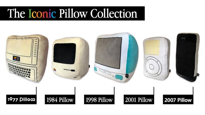 MacRumors Giveaway: Win a Plushie Mac, iPhone, or iPod From Throwboy's Iconic Pillow Collection