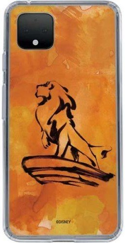 skinit-pixel-4-xl-clear-case-simba-water