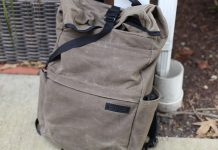 Waterfield Tech Rolltop Backpack review