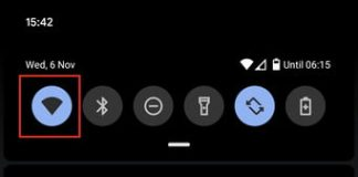 How to quickly share Wi-Fi settings in Android 10