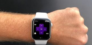 Roku app transforms Apple Watch into wearable remote control with voice commands