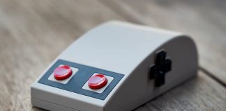 Pretend it's 1985 again with this 8BitDo NES-style mouse