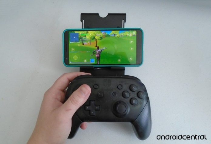 How to use a Nintendo Switch Pro Controller with an Android phone