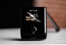 Motorola Razr hands-on: Back in black