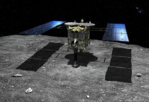 Hayabusa2 spacecraft begins long journey home with goodies for scientists