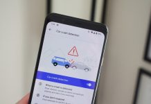 How to enable car crash detection on the Pixel 4