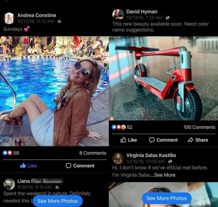 Facebook is testing a photos-only mode in its app