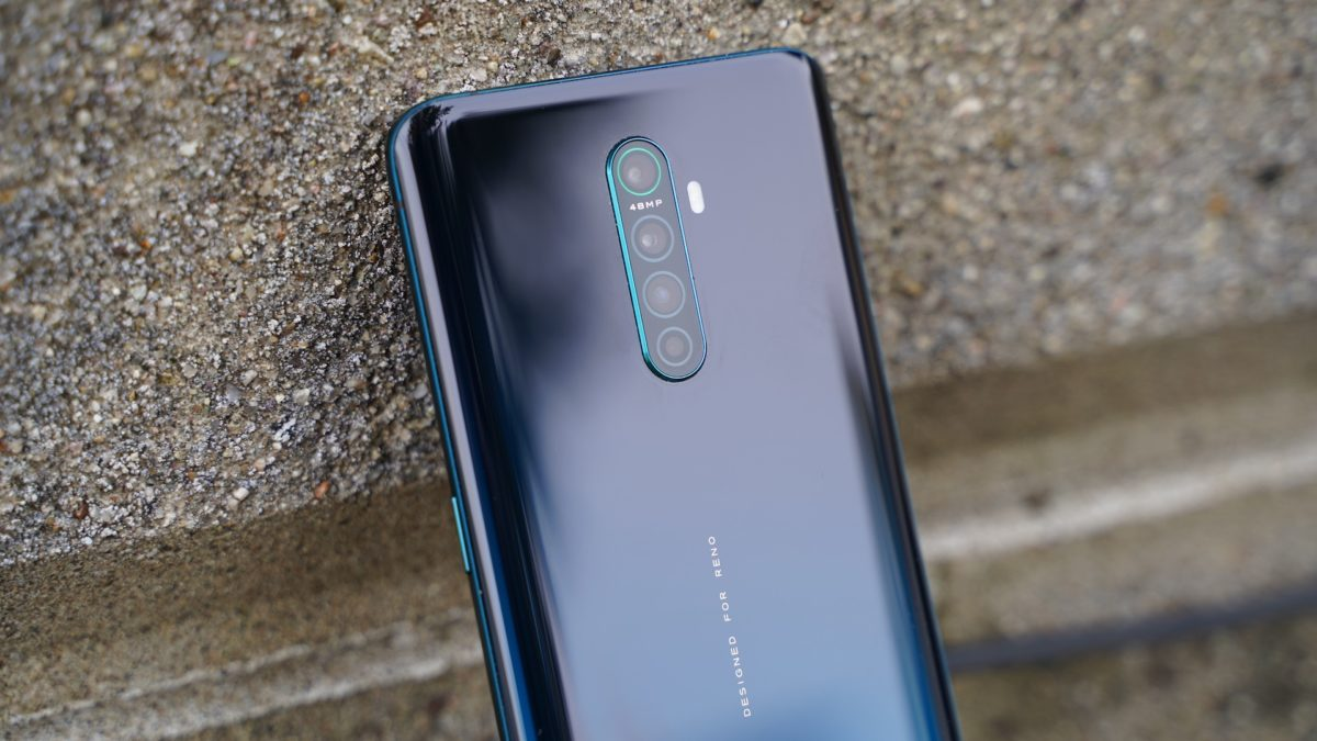 Oppo Reno Ace review against brick