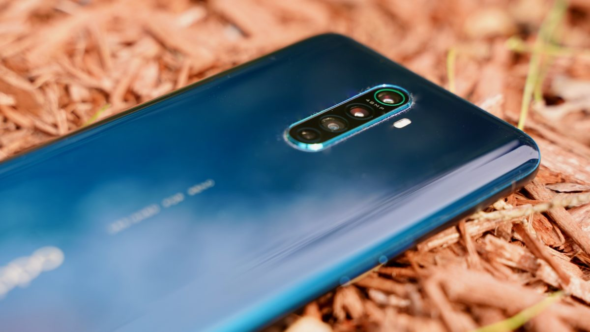 Oppo Reno Ace review close up profile
