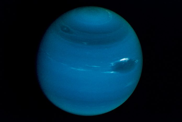 Neptune's moons twirl around each other in an unprecedented dance of avoidance