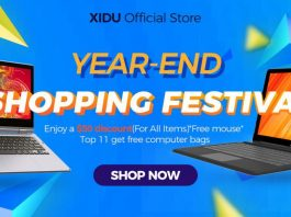 XIDU launches official store with massive promotions