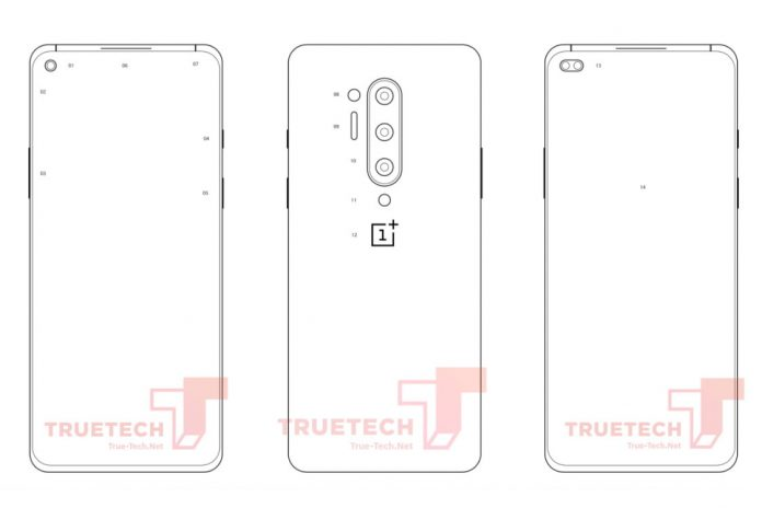 The next OnePlus phone may have four rear camera sensors, hole-punch display