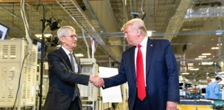 Trump asks Apple to build out 5G in U.S. That's not how it works