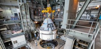 Boeing's Starliner capsule attached to Atlas rocket ahead of first test flight