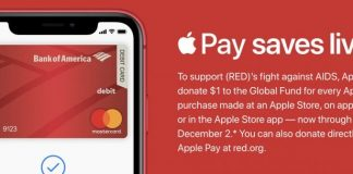 Apple Donating $1 to (RED) for Every Apple Store Purchase Made With Apple Pay Ahead of World AIDS Day