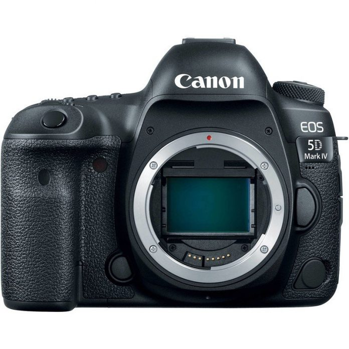 Photographers! Save $500 off a new Canon EOS 5D Mark IV camera body