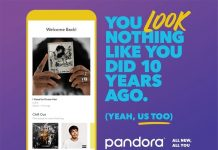 Pandora gets a massive facelift for the new decade