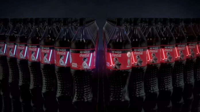 How to get the Star Wars glowing Lightsaber Coca-Cola